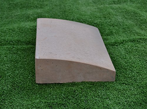 Sold 2 pcs KERB STONES concrete Mold CURB Concrete Stepping Stone #S36 (Stone Mold Abs Stepping Plastic)