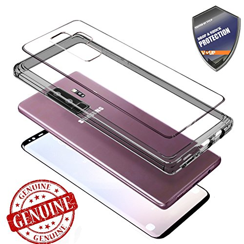 Samsung Galaxy S9 Plus Case, Clear Full Body Cover...