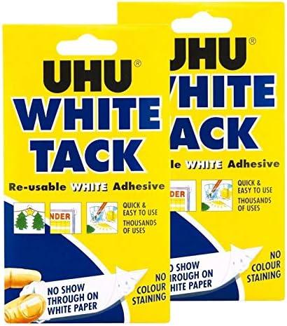 Bostick Blu Tack Original Réutilisable Adhésif Home Office Bleu TAC Pack Use Stick