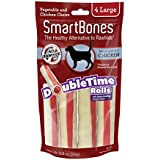 Smartbone DoubleTime Rolls with Long-Lasting Chew Center, Chicken
