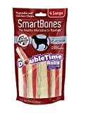 Smartbone DoubleTime Rolls with Long-Lasting Chew Center, Chicken Review