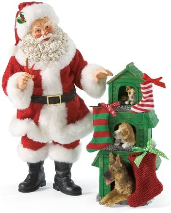 Department 56 Possible Dreams Fur Tree Santa, 11.42 inch
