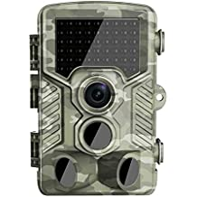 Hunting Trail Camera,Woopower H-801 12MP 1080P Waterproof Outdoor Camping IP56 Tactical Hunting Camera Infrared Trail Dustproof Precise for Wildlife Observation and Security