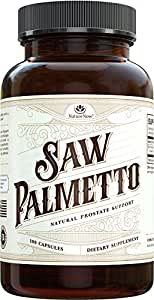 Saw Palmetto Extract By NatureNow Is The #1 Best Selling Health Supplement Made In The USA With A Natural DHT Blocker Complex To Help Men And Women With Hair Loss And Support Healthy Prostate