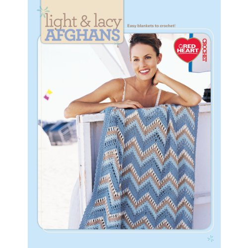 Crochet Afghan Garden - Light & Lacy Afghans