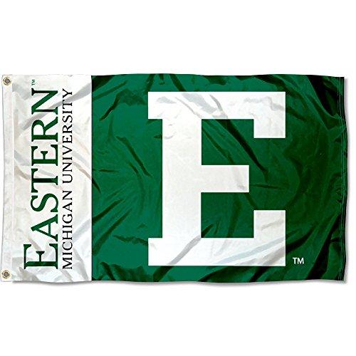 EMU Eagles Eastern Michigan University Large College Flag