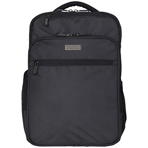 """51WiarbBdzL - Kenneth Cole Reaction Brooklyn Commuter 16"""" Backpack Pink Dot Charcoal One Size"""