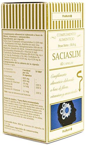 ProNutri Saciaslim Complemento Alimenticio - 3 Paquetes de ...