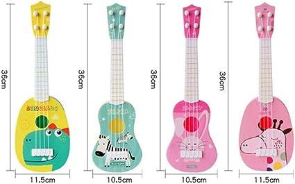 Ukelele para niños, guitarra de juguete para niños, guitarra de ...