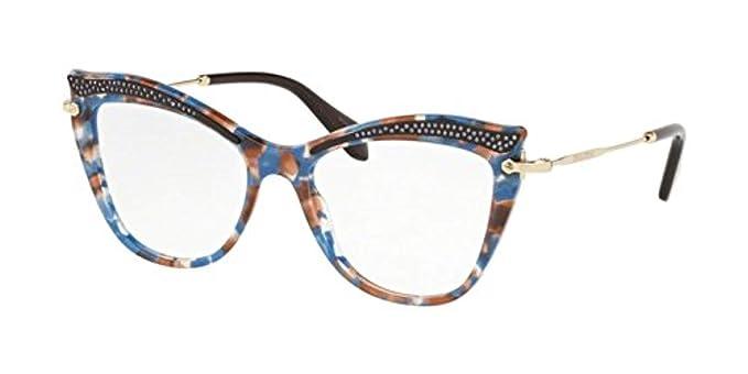 1ec19751991 Miu Miu - Monture de lunettes - Femme Bleu bleu ciel Taille unique ...