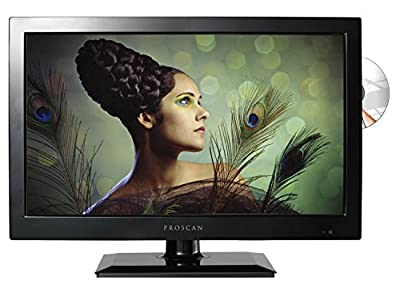 Proscan PLEDV1945A-B 19-Inch 720p 60Hz LED TV-DVD Combo (Certified Refurbished)
