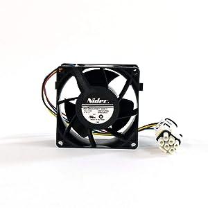 Ge WR60X26033 Refrigerator Evaporator Fan Motor Genuine Original Equipment Manufacturer (OEM) Part