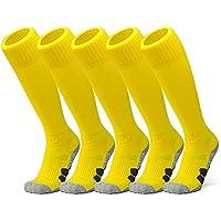 APTESOL Youth Knee High Long Athletic Socks Soccer &...