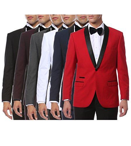 Men's Slim Fit Shawl Lapel Tuxedo - Many Colors Available