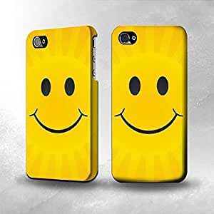 iphone covers Apple Iphone 5 5s Case - The Best 3D Full Wrap iPhone Case - Yellow Sun Smile