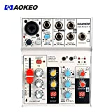 Best Mixer Bands - Aokeo 4-Channel/ 3-Band EQ Sound Card Audio Mixer Review