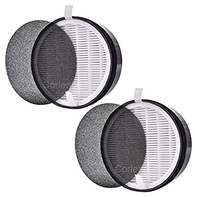 2 Pack HEPA Air Filter Replacement Compatible with Levoit Air Purifier LV-H132, Compared to Part LV-H132-RF