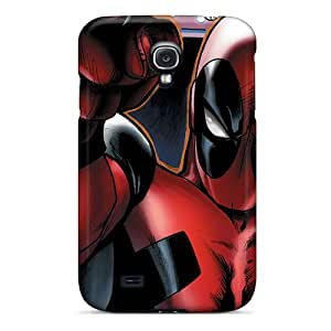 Marycase88 Samsung Galaxy S4 Shock Absorption Hard Phone Covers Custom Realistic Deadpool I4 Skin [fcM2696lJDf]