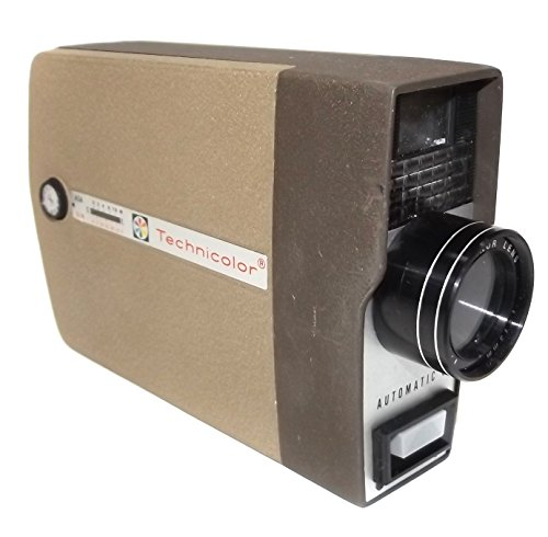 for-parts-vintage-technicolor-automatic-8-home-movie-film-camera