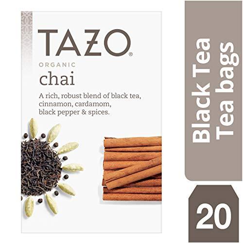 (Tazo Organic Chai Black Tea Filterbags (20 count))