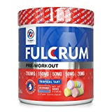 Vaxxen Labs Fulcrum Preworkout – 300g, 20 serving with Dynamine for FOCUS, ElevATP for ENDURANCE, Teacrine for ENERGY, Infinergy for POWER & Capsorb for ABSORPTION of 19 fully dosed ingredients Review