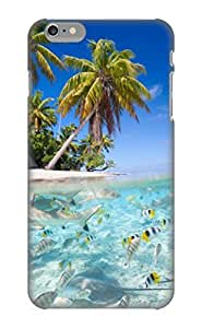 High Quality VenusLove Animal Fish Skin Case Cover Specially Designed For Iphone - 6 Plus