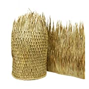 """FOREVER BAMBOO Mexican Palm Thatch Runner Roll (2 Pack) 35"""" H x 60' L"""