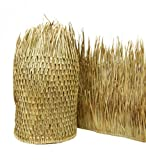 Mexican Palm Thatch Runner Roll (2 Pack) 30'' H x 60' L