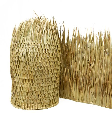 Thatch Roofing - FOREVER BAMBOO Mexican Palm Thatch Runner Roll (2 Pack) 35