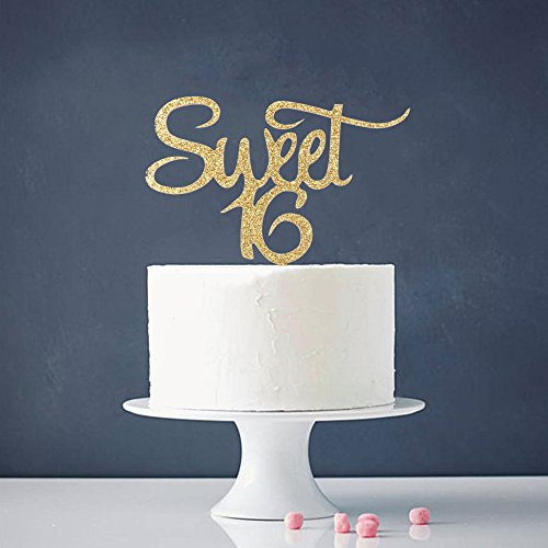 Astounding Sweet 16 Cake Toppers Shop Sweet 16 Cake Toppers Online Funny Birthday Cards Online Kookostrdamsfinfo