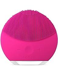 FOREO LUNA mini2 The Revolutionary T-Sonic Facial Cleansing Device, Fuchsia