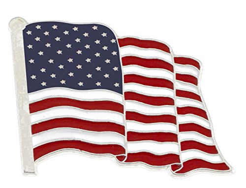 Enamel Usa Flag - 8