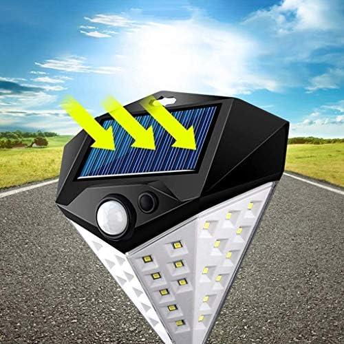 ZHUYU Sicurezza luci solari a led for esterni, solare luci di sicurezza esterna del sensore di movimento alimentata solare Luci Wireless Solar lampade impermeabile impermeabile