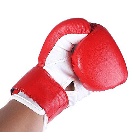 4oz PU Kids Boxing Gloves Children Cartoon MMA Training Gloves For Age 5-10 Year