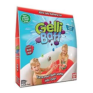 Zimpli Kids Gelli Baff-Twin Pack Bath Play Toy, Red
