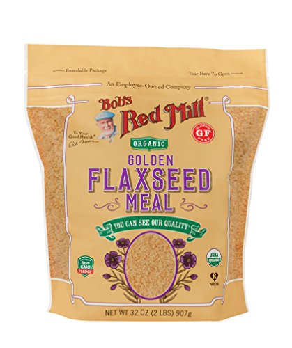Bob's Red Mill Organic Golden Flaxseed Meal, 32 Ounce (Best Ground Flaxseed Brand)