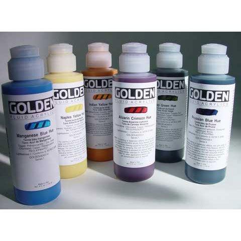 Golden Fluid Acrylic Paint 1 Ounce-Historical Manganese Blue