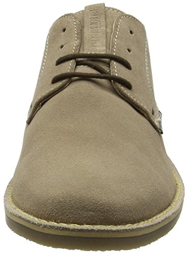 Ben Sherman Mocam Low, Zapatos para Hombre Beige (Cow Suede Sand)