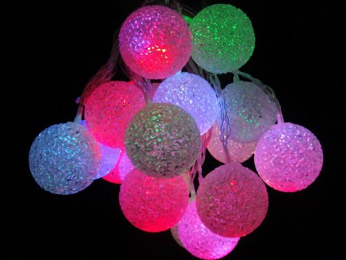 Large Outdoor Coloured Lights