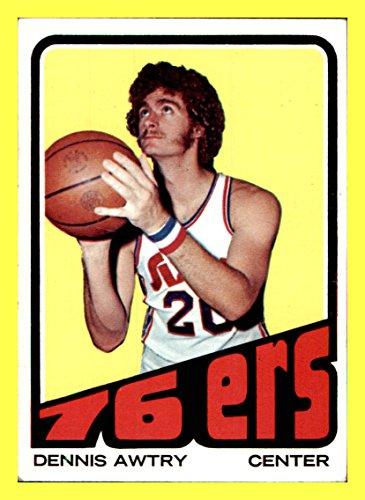 1972-73 Topps #139 Dennis Awtrey PHILADELPHIA 76ers VINTAGE (nrmt) SANTA CLARA
