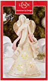 """Lenox Gifts of Grace Lit Figurine, """"Angels Light the Way with Hope"""""""