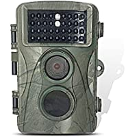 HOTEK HD 12MP Game and Trail camera for Deer Hunting Perfect Day&Night Captures with Low Glow Black Infrared, 0.6 second Trigger Speed Digital Surveillance Camera