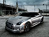 133 Nissan GTR 32x24 inch Silk Poster Aka Wallpaper Wall Decor By NeuHorris