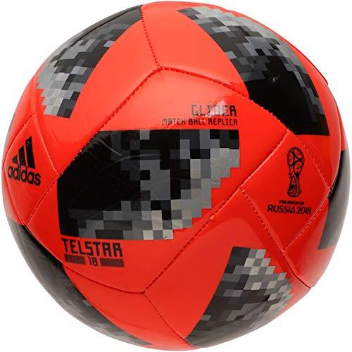 ff6c2a31dda Galleon - Adidas FIFA World Cup Glider Ball Solar Red Black Silver  Metallic