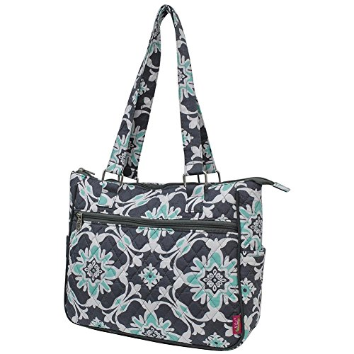 Quatro Cotton Bag Grey Quilted Ngil Vine Shoulder w6APf7fq1