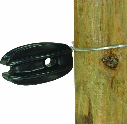 Field Guardian Heavy Duty Tie-On Corner/End Polyrope, Black (Fence Horse Wire)