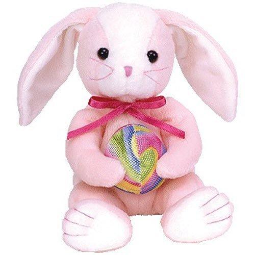 Ty Beanie Babies Eggerton Bunny Rabbit Holding Easter (Easter Bunny Beanie)