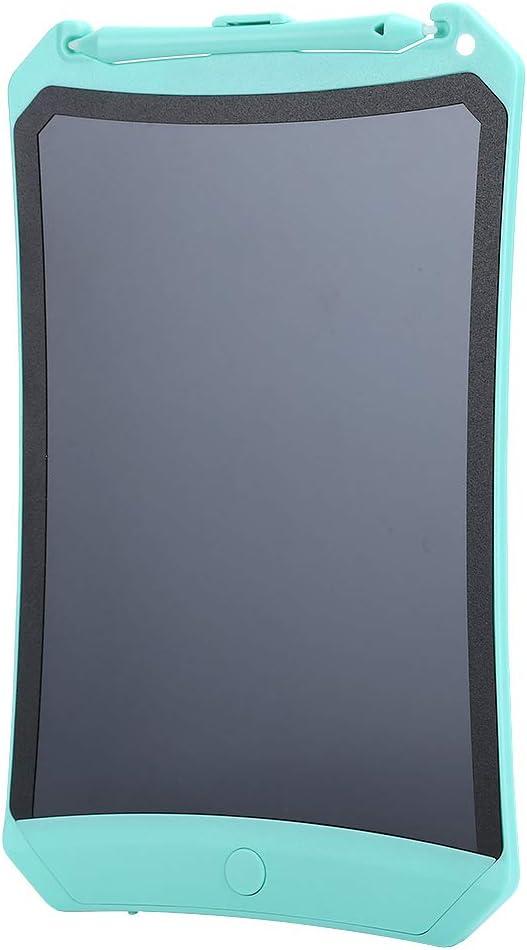 8.5インチLCDライティングボード、LCDドローイングパッドLCDペインティングライティングボードスマートドローイングパッド、子供/家族向け書道練習用ギフト(green)
