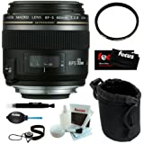 Canon EF-S 60MM F/2.8 Macro USM Lens with Accessory Kit