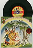 (Somewhere) Over the Rainbow - From the Wizard of Oz - featuring the Cricketones - 78 rpm Cricket Record #C777